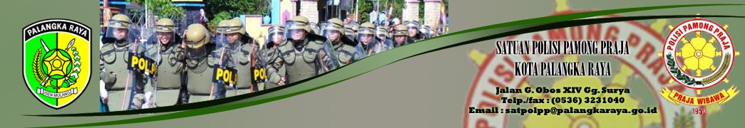 Satuan Polisi Pamong Praja Kota Palangka Raya